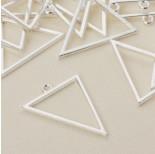Zdjęcie - Baza kolczyka trójkąt