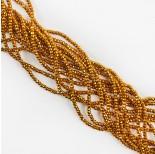 Zdjęcie - Hematyt oponka fasetowana ciemny złoty