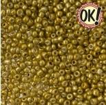 Zdjęcie - Koraliki SeedBeads Round Metallic Gold