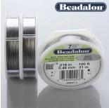 Zdjęcie - Beadalon linka powlekana grey color
