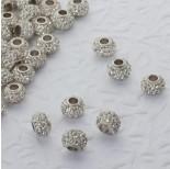 Zdjęcie - Koralik oponka z kryształkami multi crystal