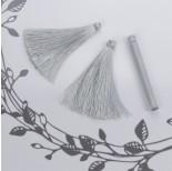 Zdjęcie - Chwost z wiskozy srebrny