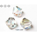 Zdjęcie - 5328 bicone bead, SWAROVSKI,  crystal AB,