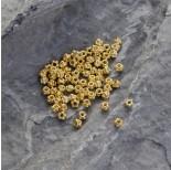 Zdjęcie - Srebrny koralik z kuleczkami Ag925 pozłacany