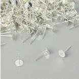 Zdjęcie - Sztyfty talerzyki kolor srebrny