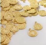 Zdjęcie - Zawieszka metalowa moneta