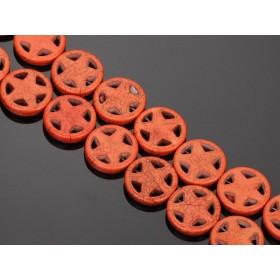 Zdjęcie - Howlit gwiazdka w kółku pomarańczowa