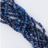 Zdjęcie - Agat kulka fasetowana niebieski