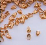 Zdjęcie - Krawatka wypukła ze stali chirurgicznej złoty