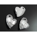 Zdjęcie - 6261 devoted 2U heart SWAROVSKI comet argent light