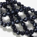 Zdjęcie - Kryształki kulki 96 cutts blue hematite