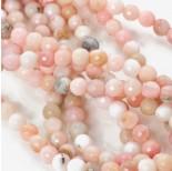 Zdjęcie - Opal różowy kulka fasetowana