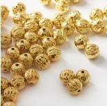 Zdjęcie - Metalowe koraliki kulki ozdobne