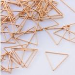 Zdjęcie - Baza geometryczna ze stali chirurgicznej trójkąt złoty