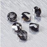 Zdjęcie - 5052 Swarovski mini round bead Crystal Silver Night