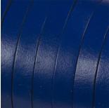 Zdjęcie - Rzemień naturalny płaski navy blue