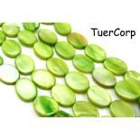 Zdjęcie - Masa perłowa owal zielony