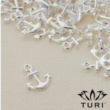 Zdjęcie - Zawieszka kotwica w srebrnym kolorze