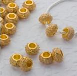 Zdjęcie - Koralik emaliowany sunny yellow