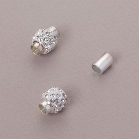 Zdjęcie - Zapięcie magnetyczne z kryształkami crystal