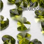 Zdjęcie - 6202 serce SWAROVSKI olivine