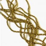 Zdjęcie - Hematyt kulki fasetowane złote