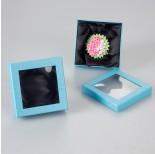 Zdjęcie - Błękitne pudełko z okienkiem