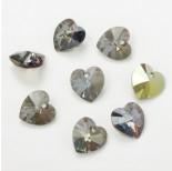 Zdjęcie - 6228 heart pendant, SWAROVSKI, irdescent green,