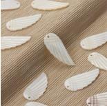Zdjęcie - Masa perłowa zawieszka skrzydło