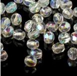 Zdjęcie - Fire Polish Silver Lined - Crystal AB (SLX00030)