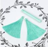 Zdjęcie - Chwost z wiskozy  morska zieleń
