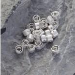 Zdjęcie - Srebrny koralik spiral Ag925