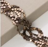 Zdjęcie - Hematyt platerowany sześciokąt płaski brązowy