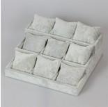 Zdjęcie - Ekspozytor schodkowy z poduszkami 9 komór