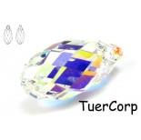 Zdjęcie - 6010 briolette pendant, SWAROVSKI, crystal AB,