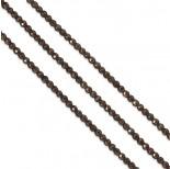 Zdjęcie - Hematyt kulki platerowane fasetowane brązowe