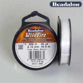 Zdjęcie - Beadalon nić wildfire biała