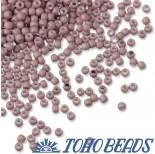 Zdjęcie - Koraliki TOHO Round Opaque-Pastel-Frosted Lt Lilac