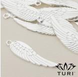 Zdjęcie - Zawieszka anielskie skrzydło w srebrnym kolorze