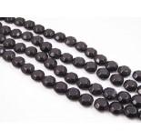 Zdjęcie - Oktagony szklane czarne