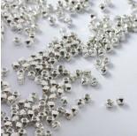 Zdjęcie - Koraliki metalowe kostki ścięte