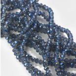 Zdjęcie - Kryształki oponki fasetowane mistic blue
