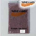 Zdjęcie - Koraliki NihBeads Metallic Frosted Nutmeg