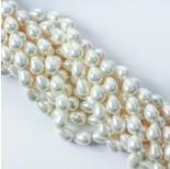 Zdjęcie - Perły seashell łezka biała