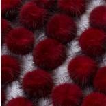 Zdjęcie - Pompon czerwony
