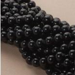 Zdjęcie - Perły szklane czarne