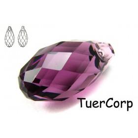 Zdjęcie - 6010 briolette pendant, SWAROVSKI,amethyst,