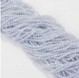 Zdjęcie - Agat blue lace kulka fasetowana
