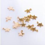 Zdjęcie - Zawieszka ze stali chirurgicznej gwiazdka złoty