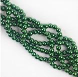 Zdjęcie - Perły szklane zielone